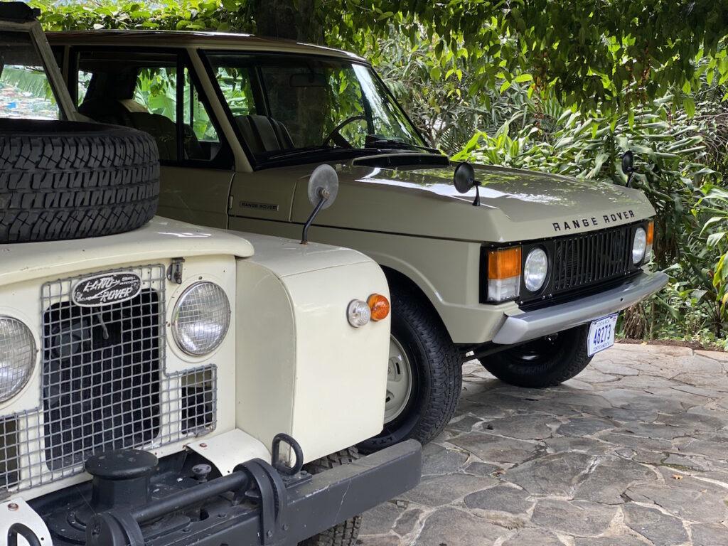 Land Rover Serie 2 1968 Oldtimer Rallye Auto