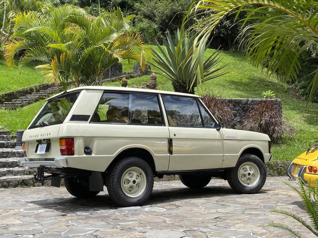 Oldtimer Ausfahrt Range Rover Touren
