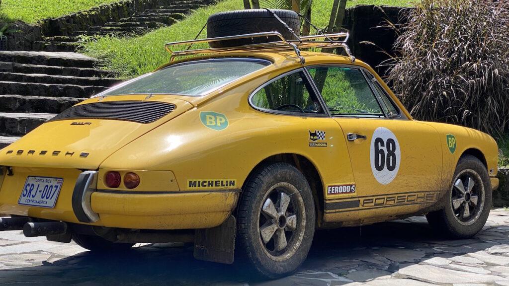 Oldtimer Rallye Fahrzeuge Porsche 911 Mittelamerika
