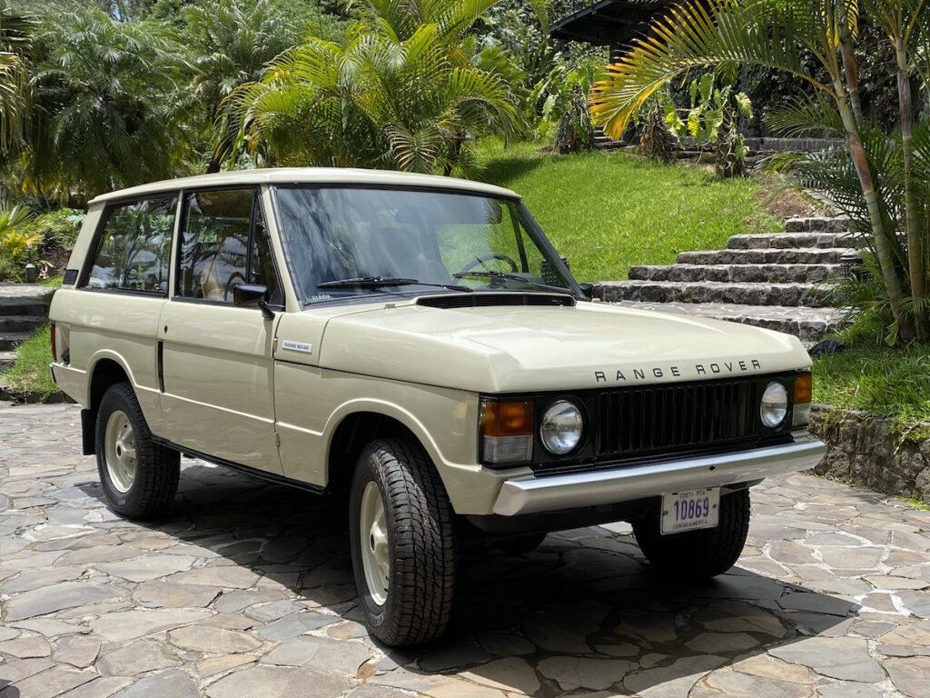 Oldtimer Rallye Autos Range Rover Tour