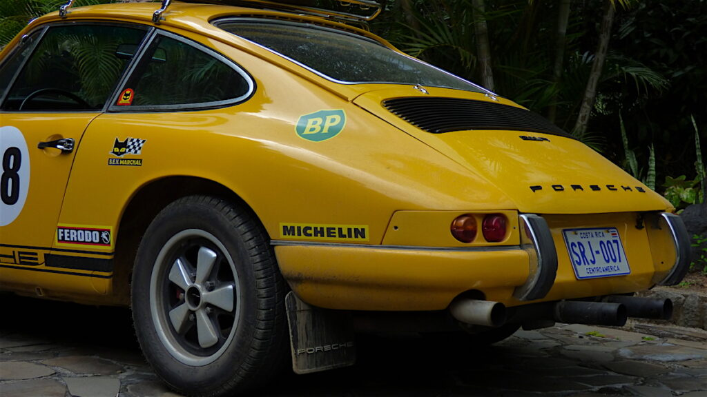 Porsche 911 Rallye Costa Rica Oldtimer Ausfahrt