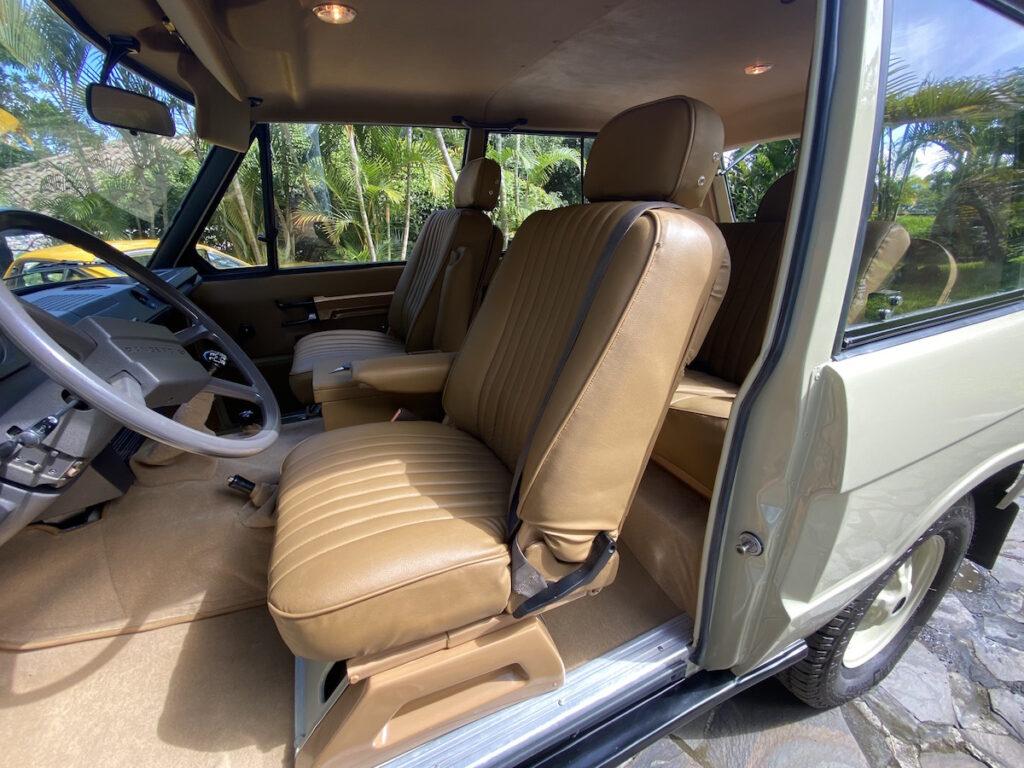 Range Rover Oldtimer 2-Tuerer 1978 Rallye Fahrzeug