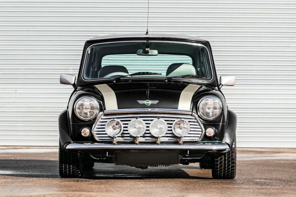 Rover Mini Cooper Oldtimer Rallye Reisen Auto